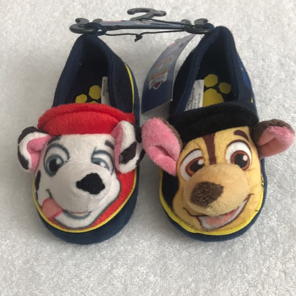 664fac3b2 Nickelodeon Shoes | New Toddler Boys Paw Patrol Slippers Small 56 ...